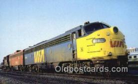 trn001824 - E8A F9B, Canadian Trains, Railroads Postcard Post Card Old Vintage Antique