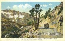 trn001827 - The Tioga Road And The High Sierra, Yosemite National Park, California, CA USA Trains, Railroads Postcard Post Card Old Vintage Antique