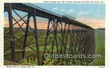 trn001850 - Kinzua Bridge, Mt Jewett, Kane, Pennsylvania, PA USA Trains, Railroads Postcard Post Card Old Vintage Antique