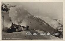 trn001865 - Real Photo - Norge, Fra Bergensbanen Trains, Railroads Postcard Post Card Old Vintage Antique