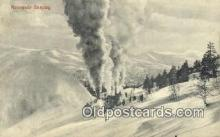 trn001868 - Rolerende Sneplog Trains, Railroads Postcard Post Card Old Vintage Antique