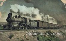 trn001869 - Canadian Pacific Railway Express Trains, Railroads Postcard Post Card Old Vintage Antique