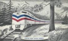 trn001872 - Freedom Train Trains, Railroads Postcard Post Card Old Vintage Antique