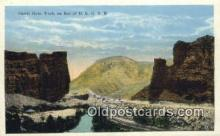 trn001873 - Castle Gate, Utah, UT USA Trains, Railroads Postcard Post Card Old Vintage Antique