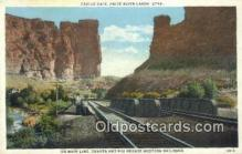 trn001874 - Main Line, Castle Gate, Utah, UT USA Trains, Railroads Postcard Post Card Old Vintage Antique