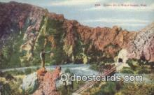 trn001876 - Tunnel No. 3 Weber Canyon, Utah, UT USA Trains, Railroads Postcard Post Card Old Vintage Antique