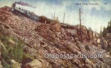 trn001889 - Rock Point, Colorado, CO USA Trains, Railroads Postcard Post Card Old Vintage Antique