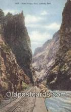 trn001893 - Royal Gorge, Colorado, CO USA Trains, Railroads Postcard Post Card Old Vintage Antique