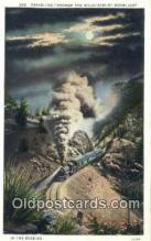 trn001895 - Rocky Mountains, USA Trains, Railroads Postcard Post Card Old Vintage Antique