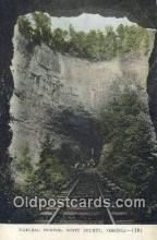 trn001898 - Natural Tunnel, Scott County, Virginia, VA USA Trains, Railroads Postcard Post Card Old Vintage Antique