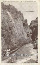 trn001904 - Denver and Rio Grande Western, Royal Gorge, Colorado, CO USA Trains, Railroads Postcard Post Card Old Vintage Antique