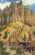 trn001912 - Bryce Canyon, Utah, UT USA Trains, Railroads Postcard Post Card Old Vintage Antique