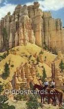 trn001919 - Bryce Canyon, Utah, UT USA Trains, Railroads Postcard Post Card Old Vintage Antique