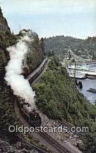 trn001998 - Royal  Hudson No. 2860 Horseshoe Bay, USA Trains, Railroads Postcard Post Card Old Vintage Antique
