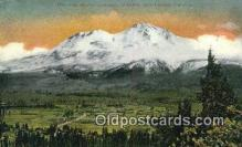 trn002014 - Mt Shasta, California, CA USA S.P.R.R Trains, Railroads Postcard Post Card Old Vintage Antique