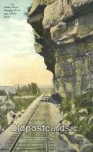 trn002038 - Sunset Route, Hanging Rock, Devils River Trains, Railroads Postcard Post Card Old Vintage Antique