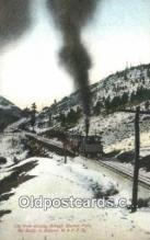 trn002055 - Cog Train Ruxbon Park, Mt Baldy, M and PP Railway Trains, Railroads Postcard Post Card Old Vintage Antique