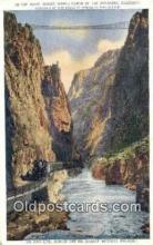 trn002061 - Royal Gorge, Colorado, CO USA Trains, Railroads Postcard Post Card Old Vintage Antique