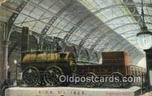trn002089 - S and DR No. 1 1825 Trains, Railroads Postcard Post Card Old Vintage Antique