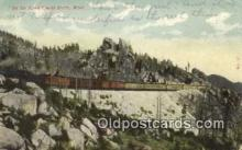 trn002091 - Butte, Montana, MT USA Trains, Railroads Postcard Post Card Old Vintage Antique