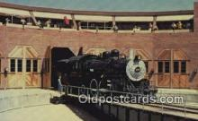trn002092 - Railfair 81 , Santa Fes Locomotive Number 1010, Los Angeles, California, CA USA Trains, Railroads Postcard Post Card Old Vintage Antique