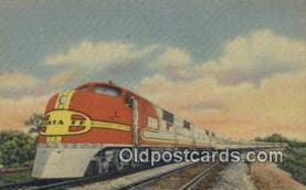 trn002115 - Santa Fe Super Chief Trains, Railroads Postcard Post Card Old Vintage Antique