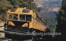 trn002155 - The Incline Car, Lookout Mountain incline, Chattanooga, Tennessee, TN USA Trains, Railroads Postcard Post Card Old Vintage Antique