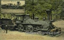 trn002158 - Texas Engine Trains, Railroads Postcard Post Card Old Vintage Antique