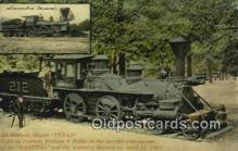 trn002159 - Texas Engine Trains, Railroads Postcard Post Card Old Vintage Antique