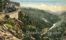 trn002176 - Cape Horn And American River California, CA USA Trains, Railroads Postcard Post Card Old Vintage Antique