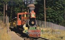 trn002187 - Old Fashioned Steam Train, Portland Oregon, OR USA Trains, Railroads Postcard Post Card Old Vintage Antique