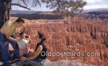 trn002245 - Bryce Canyon, Utah, UT USA Trains, Railroads Postcard Post Card Old Vintage Antique