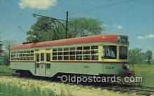 try001003 - 1913 Center Door City Trolley Cleveland Built Kuhlman Car
