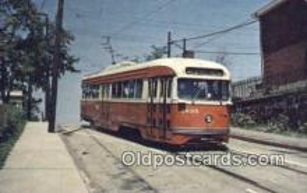 try001020 - Pittsburgh 1635 Pittsburgh Railways PCC Car