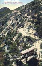 Climbing Los Flores Canyon