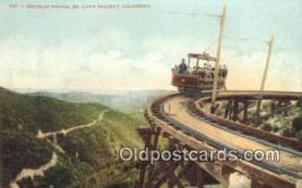 try001060 - Circular Bridge Mt. Lowe Railway, CA, USA