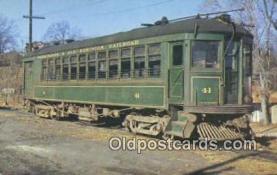 try001067 - Washington & Old Dominio Railroad, Car 41 Rosslyn, VA, USA