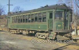 try001069 - Washington & Old Dominio Railroad, Car 41 Rosslyn, VA, USA