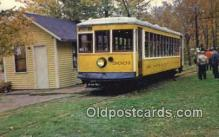 try001102 - Trolley Car, Museum Warehouse Point, Conn, USA