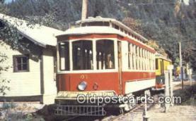try101025 - The Trolley Park, Car No 503 Glenwood, Oregon, USA
