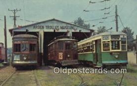 try101112 - Three Trolleys of Yesterday, Arden Trolley Museum Pennsylvania Railway Museum Association Inc