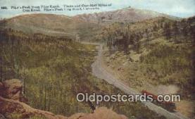 try101115 - Pike's Peak, Pilot Knob Pikes Peak Cog Road, CO, USA