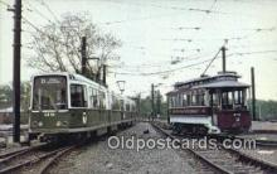 try101121 - Railway Cars No 396 Newton, Massachusetts, USA