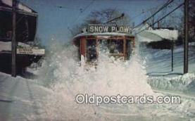 try101122 - MBTA Snow Plow Blizzard 1978 Newton, Massachusetts, USA