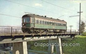 try101148 - No 154 First Steel Interurban Cars, Ohio Railway Museum Ohio Railway Museum, Worthington, OH, USA