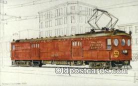try101188 - Interurban, Railway Post Office Ca No Sp700 San Francisco, CA, USA