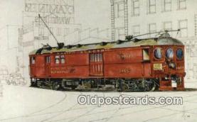 try101189 - Interurban, Railway Post Office Car 1405 Los Angeles, CA, USA