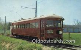 try101206 - Ex Cincinnati & Lake Erie Highspeed Interurban NO 119 Worthington, OH, USA
