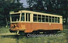 try101240 - Electric Street Car, 381, Last to run in Iowa Cedar Falls, Iowa, USA