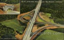 tur001006 - Blue Mountain Interchange, PA, Pennsylvania, USA Turnpike, Turnpikes Postcard Post Cards Old Vintage Antique